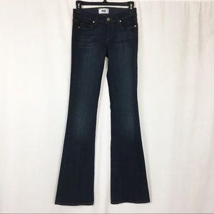 NEW Paige skyline bootcut dark wash jeans 24